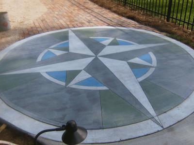 Concrete Compass